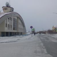 Лабытнанги. Железнодорожный вокзал, Лабытнанги