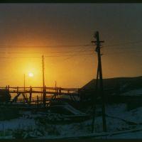 winter sunrise, Мужи