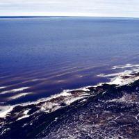 Правый берег Тазовской губы перед ледоставом. Сентябрь месяц., Находка
