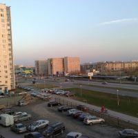 Перекресток Интернациональная и Нефтянников, Нижневартовск