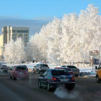 *** Одна из центральных улиц города, которую давным-давно пора переименовать ***, Нижневартовск