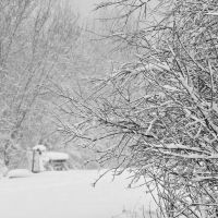 April snowstorm, Нижневартовск