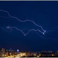 Cloud-to-cloud lightning, Нижневартовск