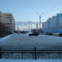 Ленинградский зимой, Новый Уренгой