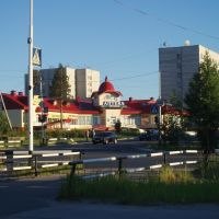 Перекресток Мира-Ленина, Ноябрьск