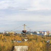 Вид на город. Осень 2011, Нягань