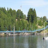Мост через Кондинку, Октябрьское