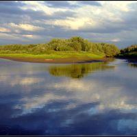 извилины реки, Тазовский