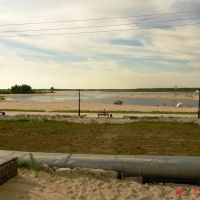 Тарко-Сале, пляж (13.07.2006г), Тарко-Сале