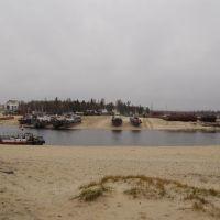 Вид на гавань 17.10.2010, Тарко-Сале