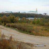 Вид на Кремль от Иртыша, Тобольск