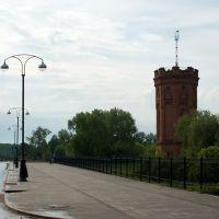 Вид на площадь С.Ремезова и водонапорную башню / View of S.Remezovs square and a water tower (14/06/2008), Тобольск