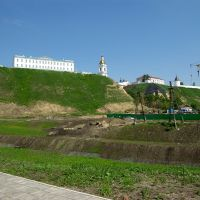 Вид на Кремль из Подгоры / View of the Kremlin from the Bottom town (14/06/2008), Тобольск