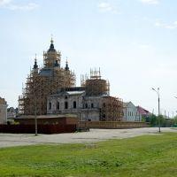 Вид на Базарную площадь и церковь Захария и Елизаветы / View of the Market square and Zaharija and Elizabeths church (14/06/2008), Тобольск