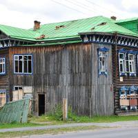 Двухэтажный жилой (был) дом, конец XIX века ~SAG~, Тобольск