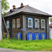 Двухэтажный жилой дом, конец XIX века, Тобольск