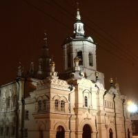 The Spass church. Front view, Тюмень