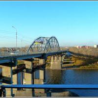 Bridge on the Tura river, Тюмень