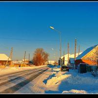 Siberian village UVAT, Уват