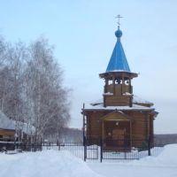 Церковь в селе Упорово, Тюменская область, Россия., Упорово