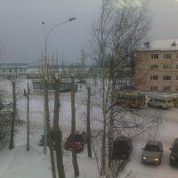 Вид из окна КНГД, Урай