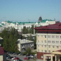 Вид на администрацию Югры из ЮГУ  ~SAG~, Ханты-Мансийск