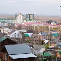 Вид на западную часть города, Ханты-Мансийск