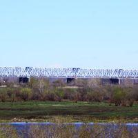 г.Ялуторовск вид на ЖД Мост от Храма !!!, Ялуторовск