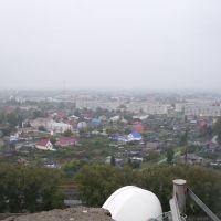 Вид с крыши элеватора, Ялуторовск