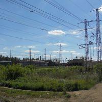 Электровозы ВЛ11(СМЕ) и ЧС4Т у птола, Балезино