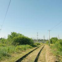 Подъездной путь на подстанцию, Балезино
