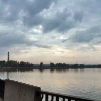 Воткинск. Пасмурный день, Воткинск