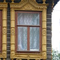 Наличники дома 28 на ул. Робеспьера, Воткинск