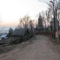 Вид в сторону пруда., Воткинск