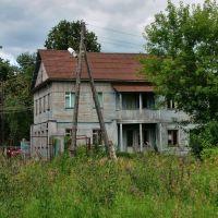 Старый дом в районе ул. к. Маркса, Глазов