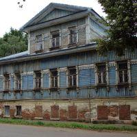 Фасад старинного дома, Глазов