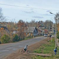 Село Дебесы, улица Советская, та же точка, осень, Дебесы