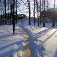 The path near the museum of regional studies, Игра