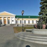 Памятник Кузябаю Герду рядом с Ижевским арсеналом, Ижевск