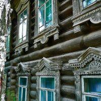 Наличники дома 4 в переулке Широкий, Ижевск