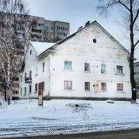 ул. Авангардная, дом 3, белый дом, Ижевск