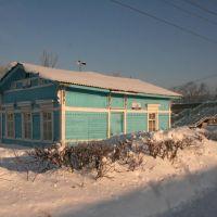 Железнодорожная станция Кез. Зима 2010 г., Кез