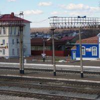 Здание вокзала станции Кизнер, Кизнер