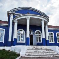 Здание вокзала поселка Кизнер, Кизнер