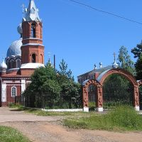 Храм в Красногорье, Красногорское