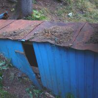 Укрытие трубы для родниковой воды..., Можга