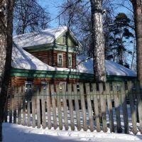 Южный фасад дачи Колчина, Сарапул