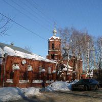 Церковь Ксении Петербургской на ул. Горького, Сарапул