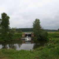 Плотина пруда на речке Сюмсинка, Сюмси