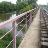 река Ува, жд мост, Ува